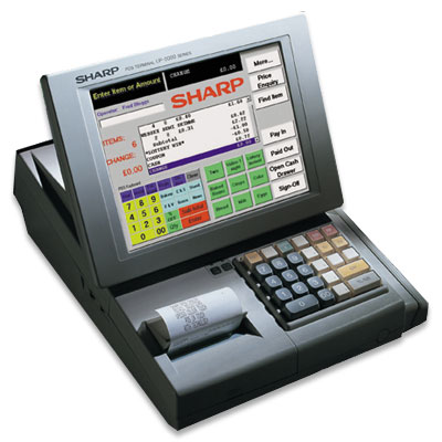 sharp UP5300 epos system